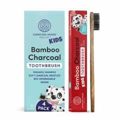 Kid's Bamboo Charcoal Toothbrush