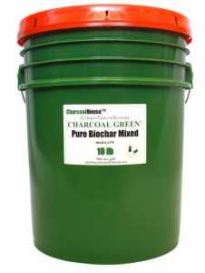 Charcoal Green® PURE BIOCHAR MIXED